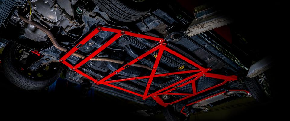 LA400K用floor brace画像